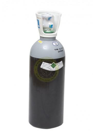 Botella y recarga de CO2