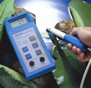 Medidor portátil de pH/EC/TDS/ºC Hanna