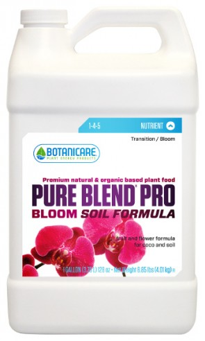 Pure Blend Pro Soil Formula Bloom 1-4-5 nutriente orgánico de floración