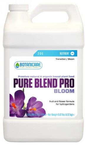 Pure Blend Pro Bloom 2-3-5 nutrientes orgánico de floración (coco/Hidro)