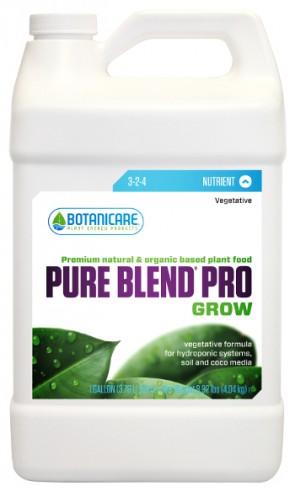 Pure Blend Pro Grow 3-2-4 nutrientes orgánico de crecimiento