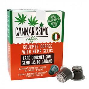 Cannabissimo café capsulas nespresso 10 Unidades