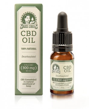Aceite CBD natural 10ML Sensi Seeds