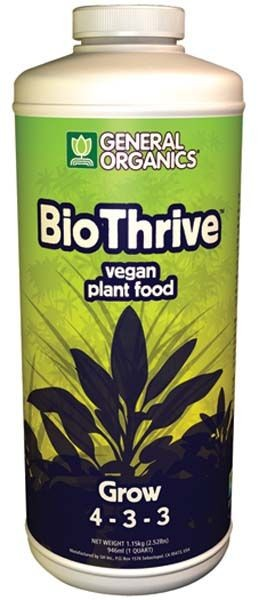 General Organic Biothrive Grow