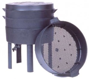 compostadora para humus de lombriz