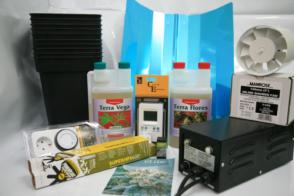 Kit de cultivo en interior para marihuana 600W o 400W
