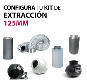 Kit extraccion 125mm