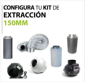 Kit extraccion 150mm