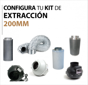 Kit extraccion 200mm