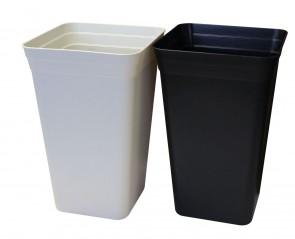 Maceta conica 26x26 (18 litros) Negra