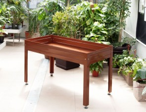Grow table brown 150x50x45