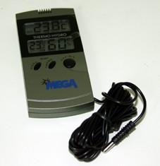 Termo higrómetro digital + sonda (int-ext.l max-min)