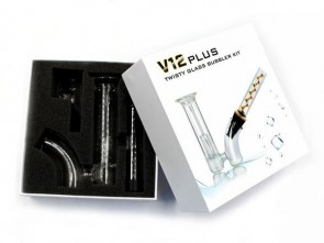 PIPA V12 PLUS TWISTY GLASS BLUNT BUBBLER KIT
