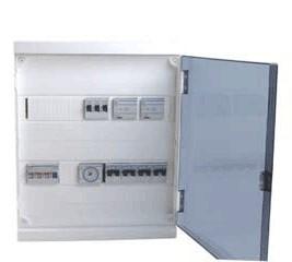 Cajetín Interruptores 4 (Hager)