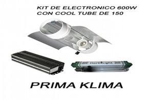 Kit Electrónico 600w cool tube de 150 prima klima