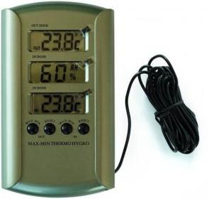 Termohigrómetro digital max/min con sonda