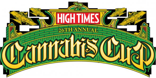 Logo de la XXVI cannabis cup